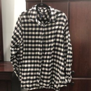 Lands End Woman's Flannel Shirt - Size 22